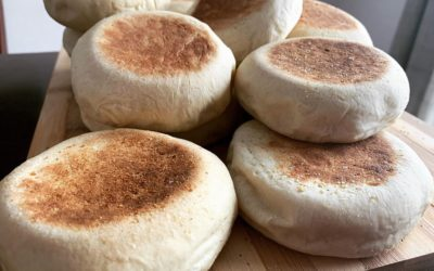 Simple Homemade English Muffins